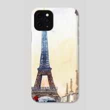 Morning in Paris - Phone Case by Maja Wrońska