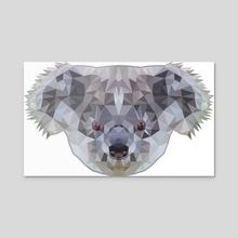 Koala poly - Acrylic by Genevieve Blais