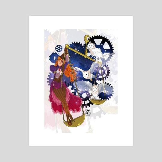 Libra Zodiac Sign by Fanny BONENFANT