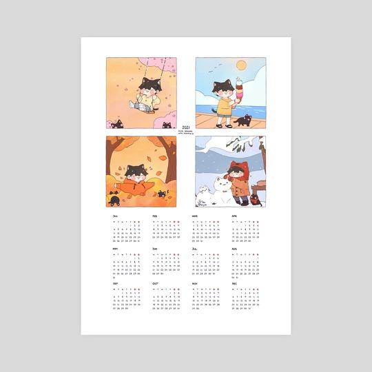 2021 - four seasons with nyoomgi by hiiyuki