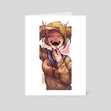 Toga Himiko - Art Card by Gloss Art