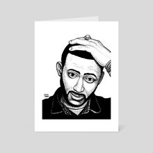 Madlib - Art Card by Collins Spaedy