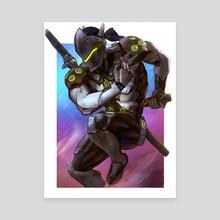 Genji - Canvas by Andrew Tran