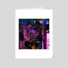 Colors are what you need - Art Card by Lizard Funk