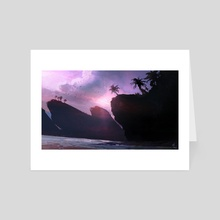 Morning in Paradise  - Art Card by Joseph Feely