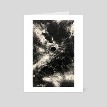 Elusive Sun - Art Card by Phil Lang