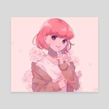 Quiet Spring - Canvas by kuraftii