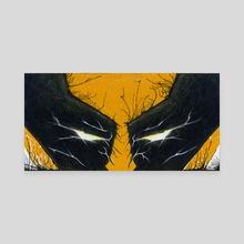 Adamantium Rage - Canvas by Chris Panila