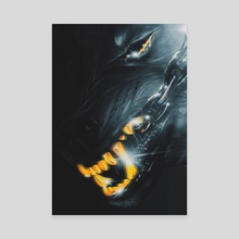Hell animal - Canvas by Rfjrt