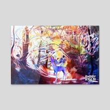 Spirit II - Acrylic by Bobby Kumar