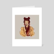 Mai - Art Card by paintedpatroclus