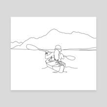 River Adventure - Canvas by Linedprint