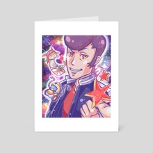 Space Dandy - Art Card by fogcat
