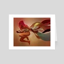 Trouble Letting Go - Art Card by Lois van Baarle