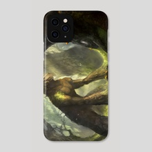 Earth_Golem - Phone Case by Nele Diel