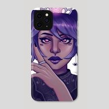 Iris - Phone Case by Lyn J.