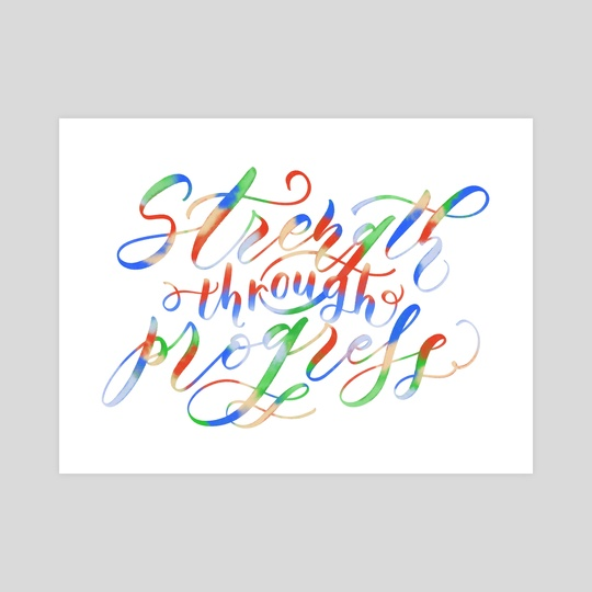 Jayce | Strength Through Progress Quote by LoLettering