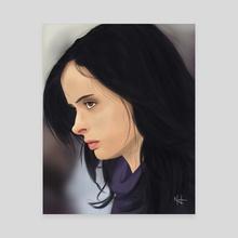 Jessica Jones - Canvas by Gabriel Neila