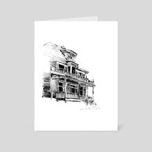 House - Art Card by Ryan Hanson