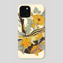 Chipmunk & Morning Glory - Phone Case by Teagan White