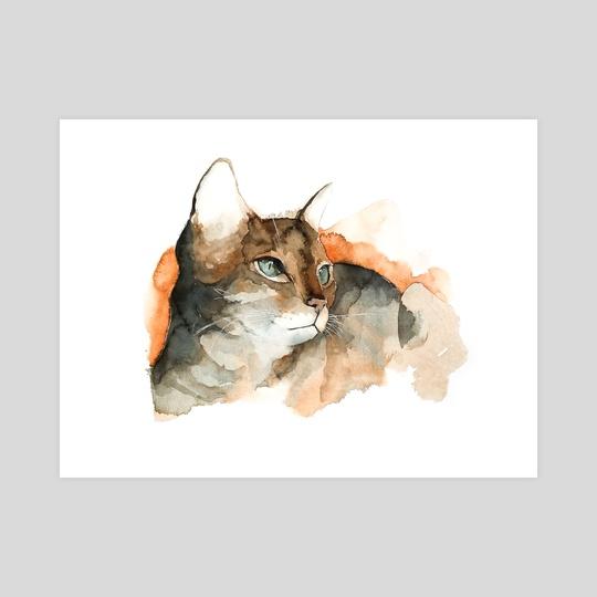 cat#10 by Rafał Wnęk