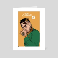 Takeshi 69 - Art Card by Daniel Cole