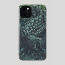 Armored Snapper - Phone Case by Emma Lazauski