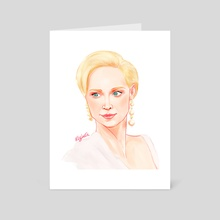 Gwendoline Christie  - Art Card by kovjaku