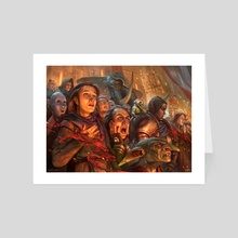 MtG - Captive Audience - Art Card by Dmitry Burmak