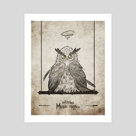The secrets of the wizarding world, dizzy owl by Loremi