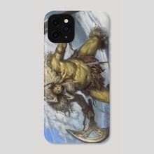 Enraged Chieftain - Phone Case by Felipe Escobar
