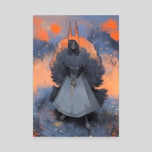Oh, Daughter of the Beast - Canvas by Ver