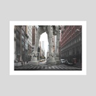 Star wars - New York - Art Print by Andres Sc