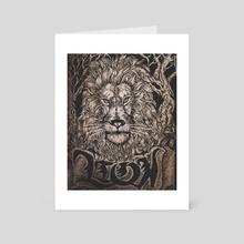 LION. - Art Card by Josh Smith