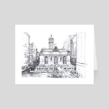 Grand Central Terminal - Art Card by mamut  rojo