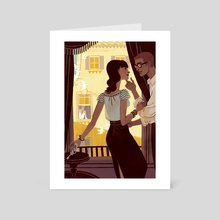 The Savoy Affair - Art Card by Kali Ciesemier