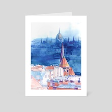 Morning in Budapest - Art Card by Maja Wrońska