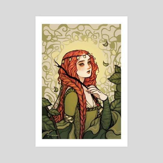 Lady Ophelia by Janaina Medeiros