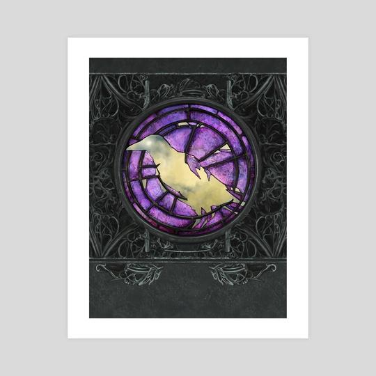 The Raven King by Dagmara Matuszak