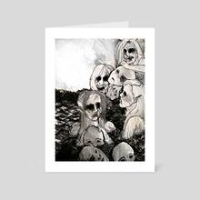 sirens - Art Card by Hannah