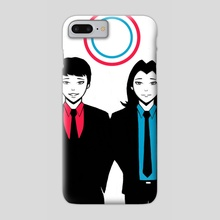 Brothers - Phone Case by John Poh