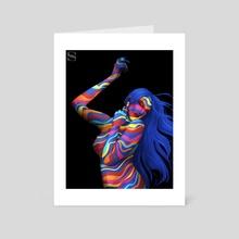 Dramatique  - Art Card by Shani Grim