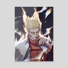 Naruto - Acrylic by BEHINDxa BEHIND