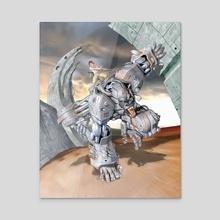 Tin Kong - Acrylic by Hector Gomez