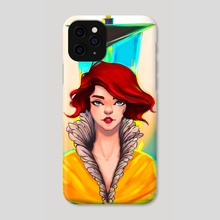 """""""Red"""" - Phone Case by Shaya Fury"""