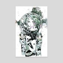 Angler - Canvas by koyamori