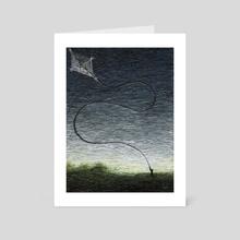 Kite - Art Card by Chris Panila