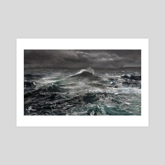 Murky Waves - 2016 by Jay Bhooshan