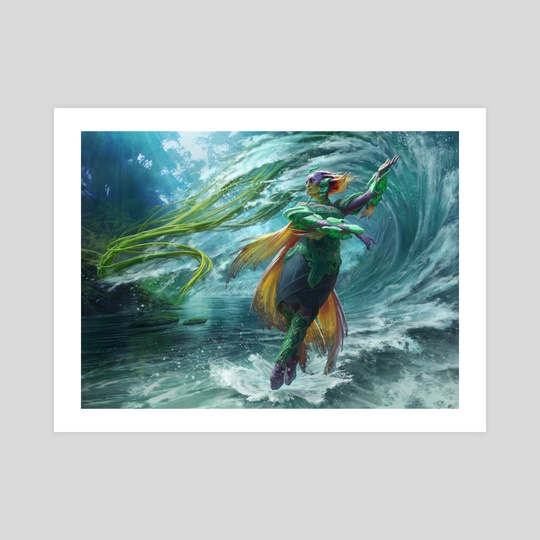 MtG - Tishana, Voice of Thunder by Anna Steinbauer