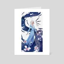 Flower Magic - Art Card by Roos Plattje